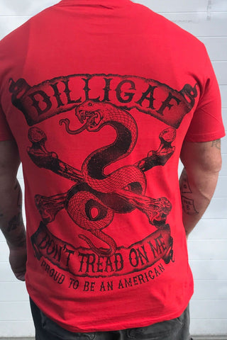 Don't Tread on Me Snake Tee
