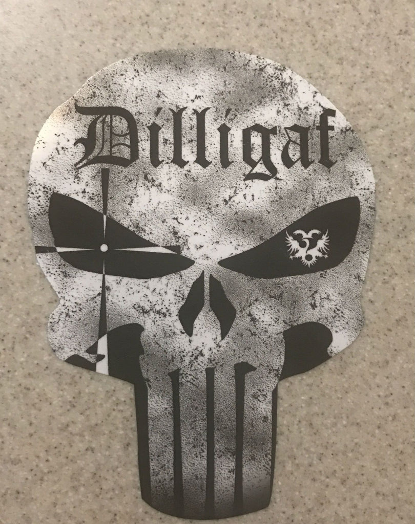 Dilligaf Punisher Sticker