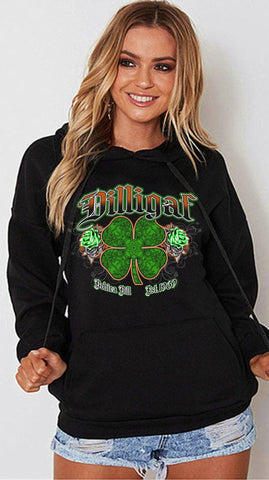 Irish Luck My ASS Hoody