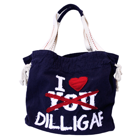 "Dilligaf ""I love Dilligaf"" Bag"