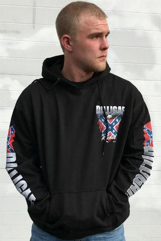 Southern Rebel Bad Ass Hoody