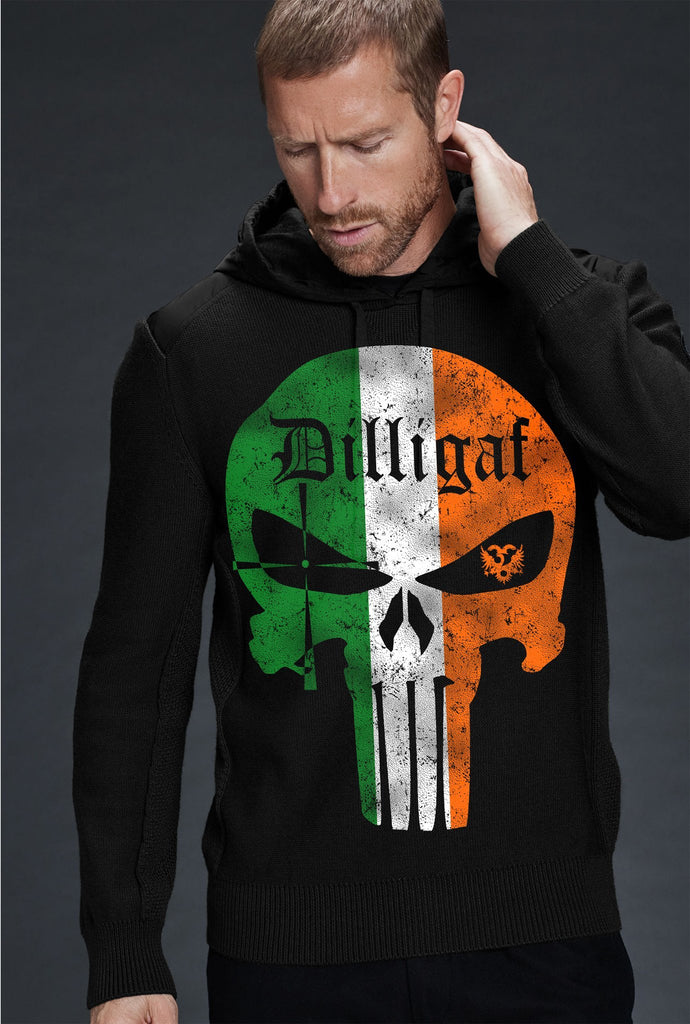 Irish Punisher Dilligaf Hoody