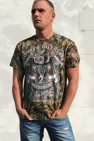 Sons of Dilligaf Camo Tee
