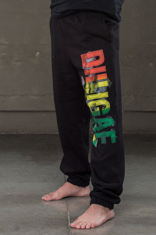 Dilligaf Smoking Rasta Sweatpants