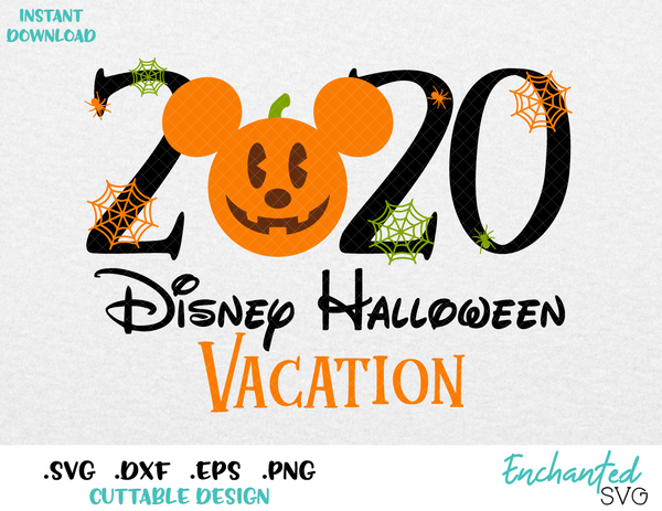 Halloween 2020 Png Halloween 2020 Mickey Ears Halloween Inspired SVG, ESP, DXF, PNG