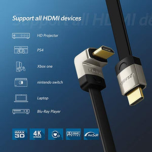 3m HDMI 2.0a/b, 270° Winkel/Flach, 4K Ultra HD, 3D, Full HD, ARC...