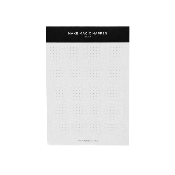 Make Magic Happen Daily Notepad