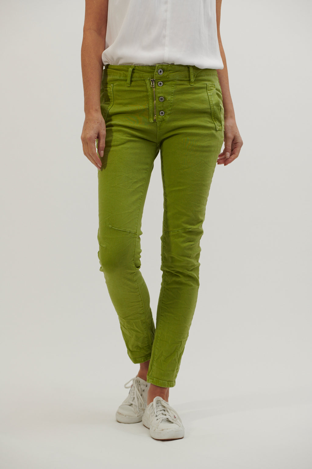 Italian Star Jeans Apple Green