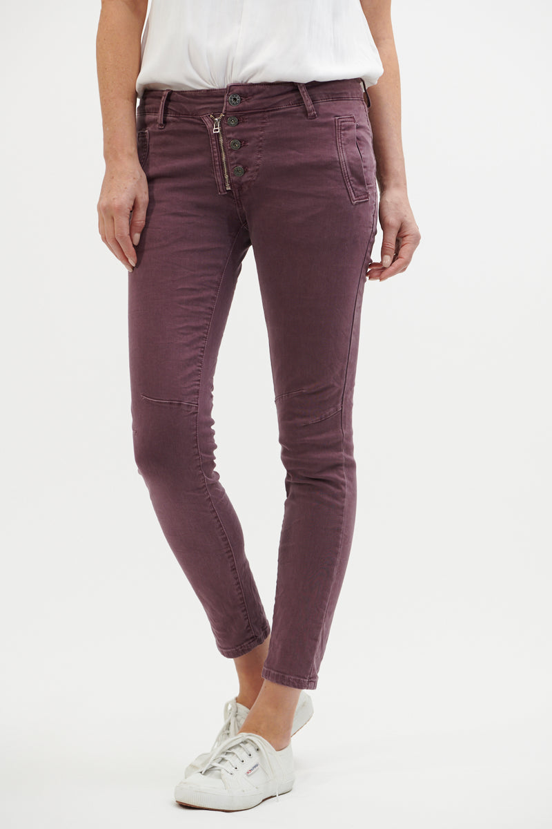 Italian Star Jeans Grape