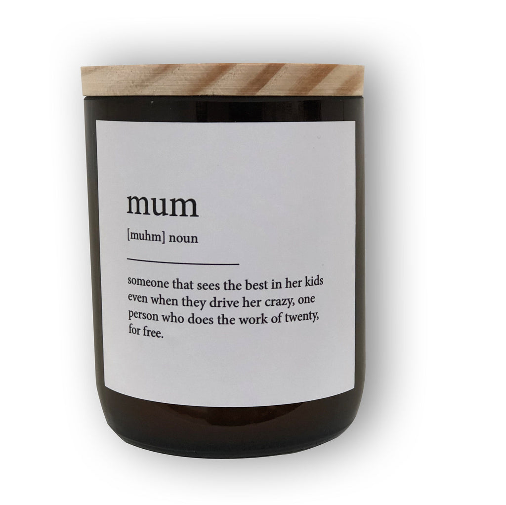 The Commonfolk Collective Candle Mum
