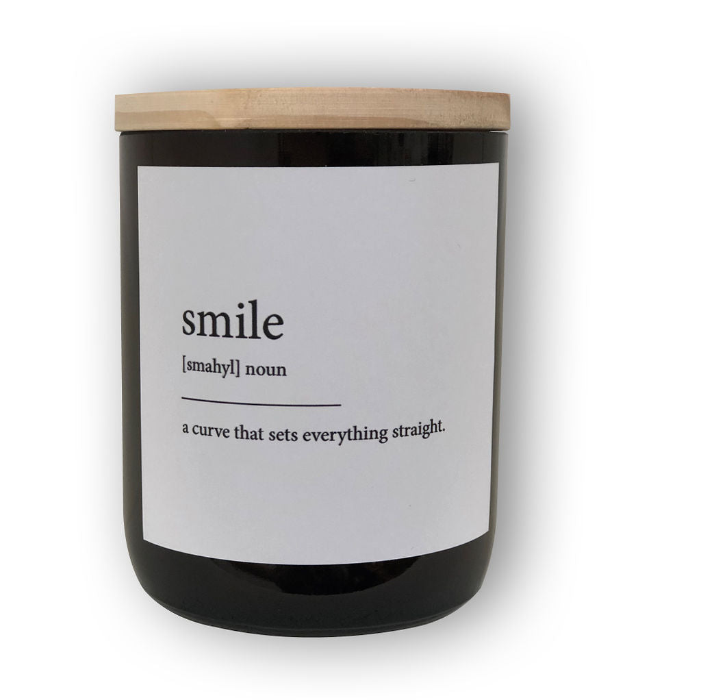 The Commonfolk Collective Candle Smile