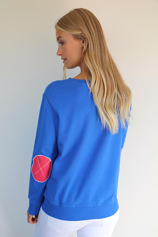 Est 1971 Classic Windy Royal Blue Portsea Red Elbows