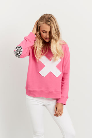 Hammill and Co Skull Sweat Pink