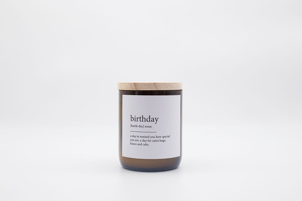 The Commonfolk Collective Candle Birthday