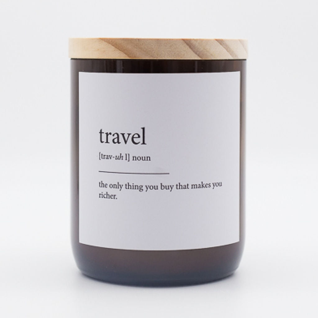 The Commonfolk Collective Candle Travel