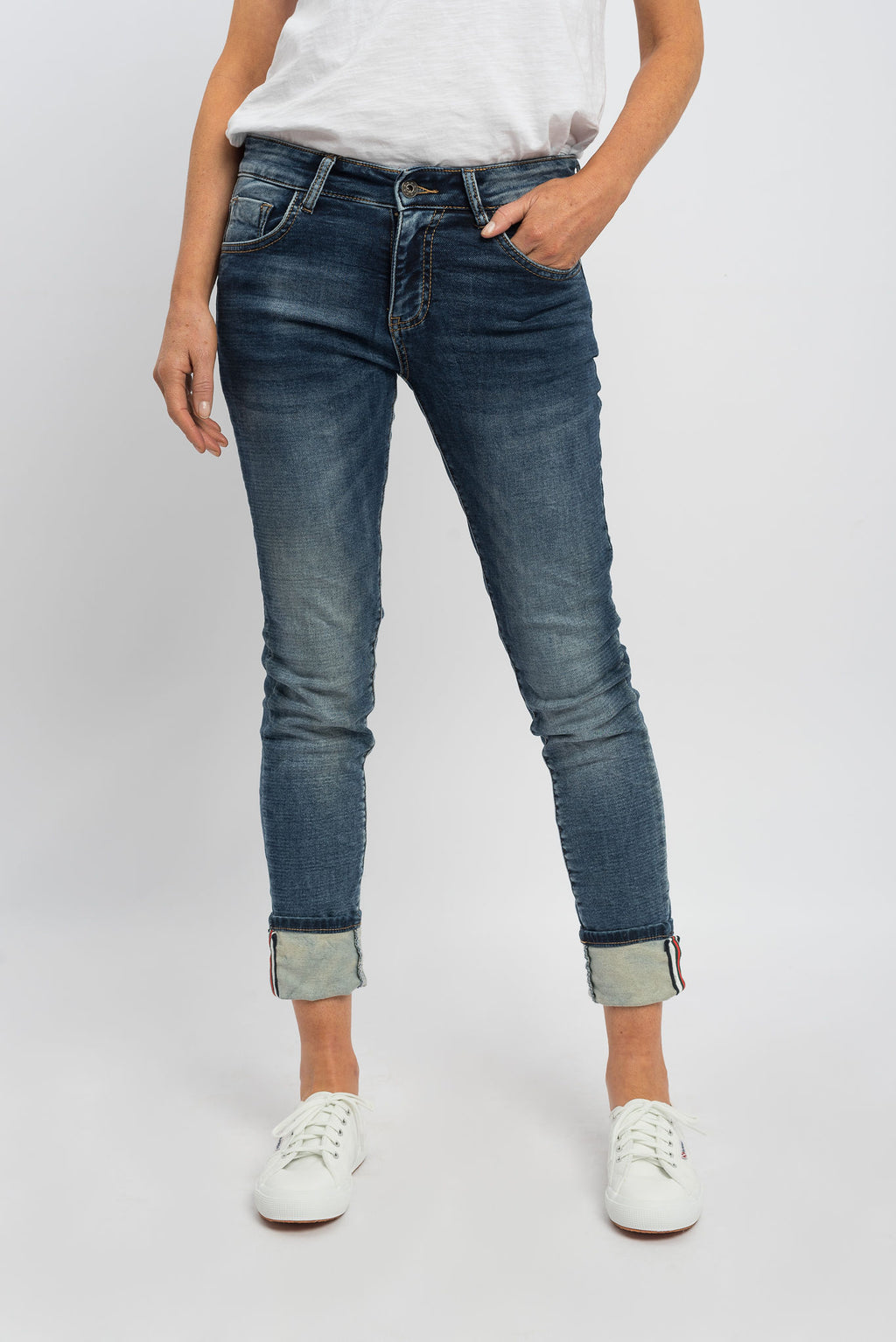 Italian Star Polo Jeans Denim