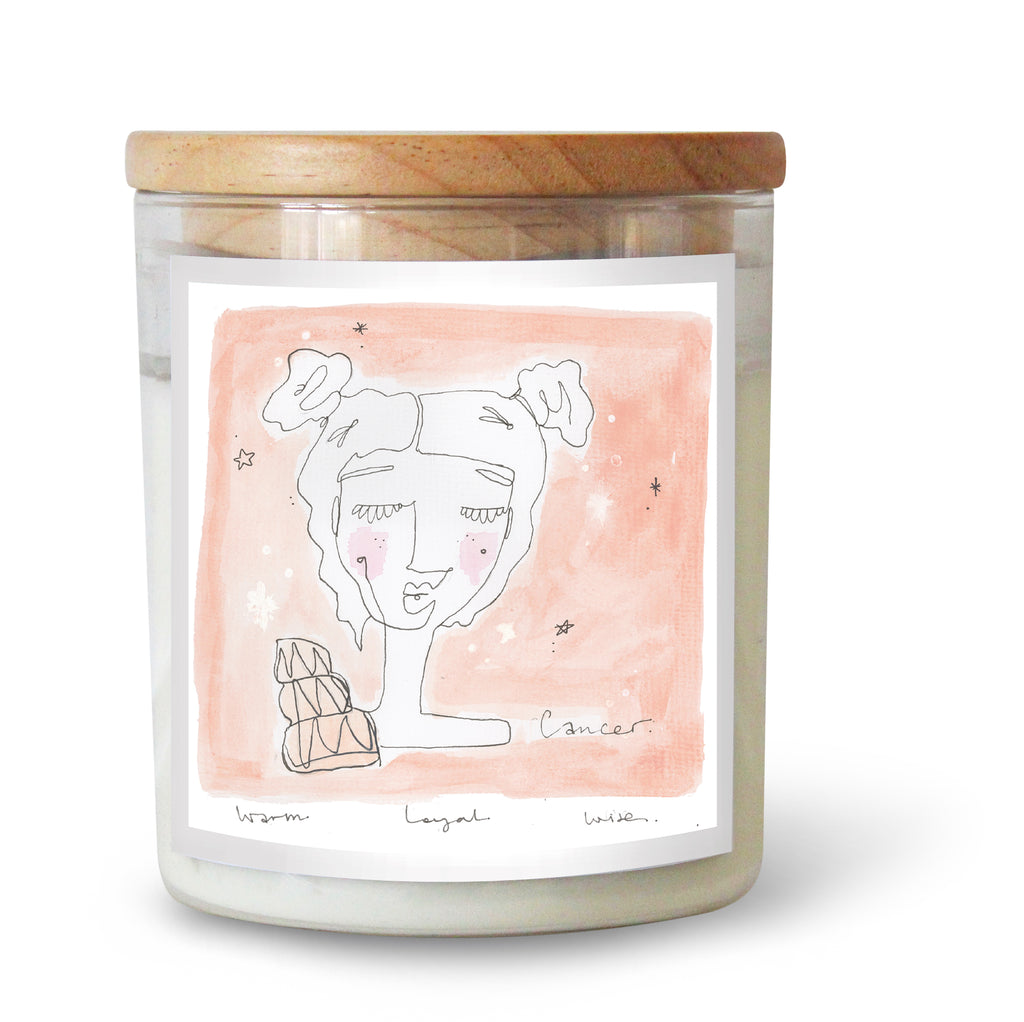 The Commonfolk Collective Zodiac Cancer Candle Standard