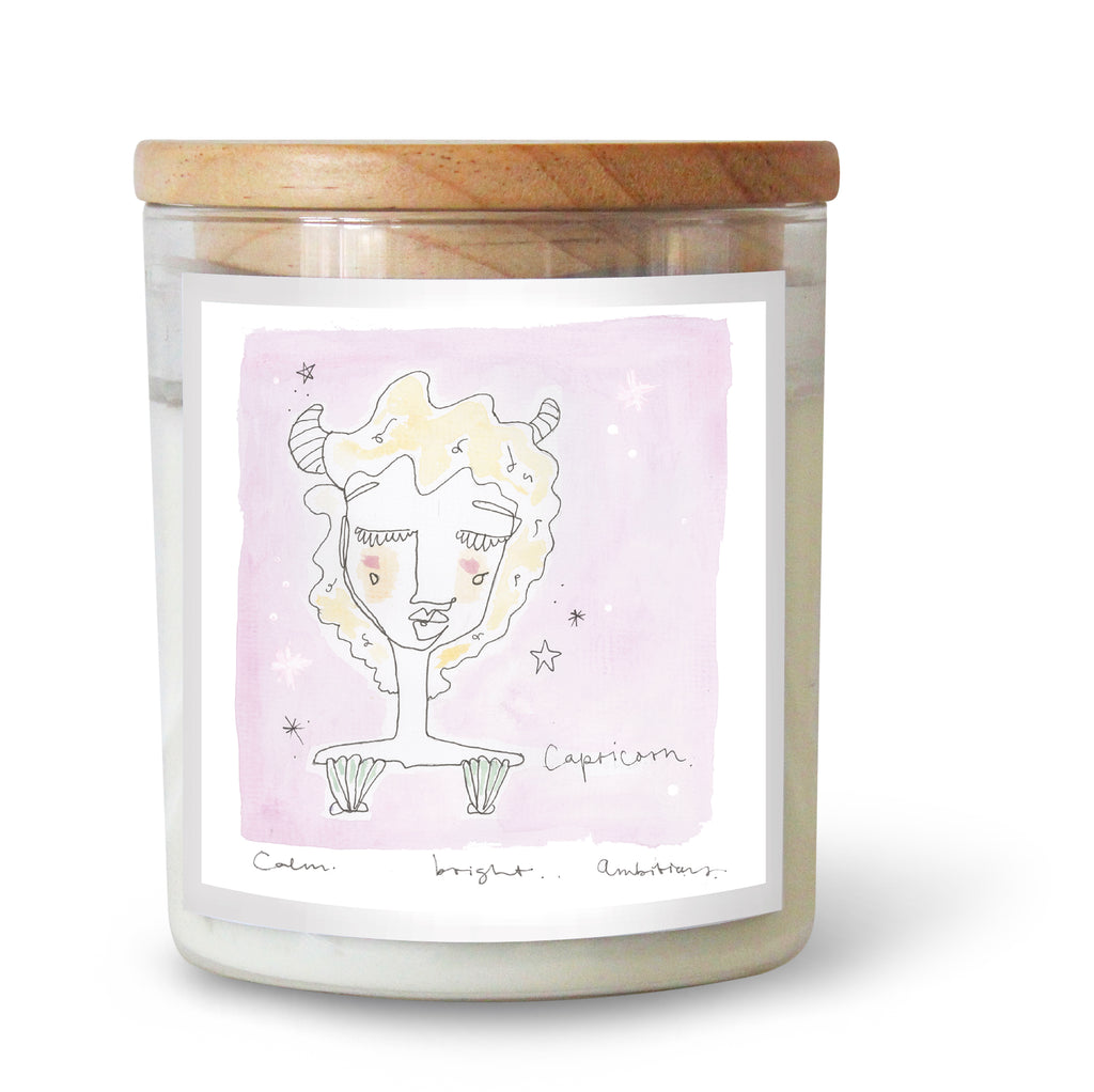The Commonfolk Collective Zodiac Capricorn Candle Standard