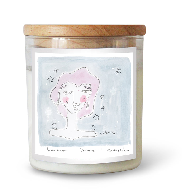 The Commonfolk Collective Zodiac Libra Candle Standard