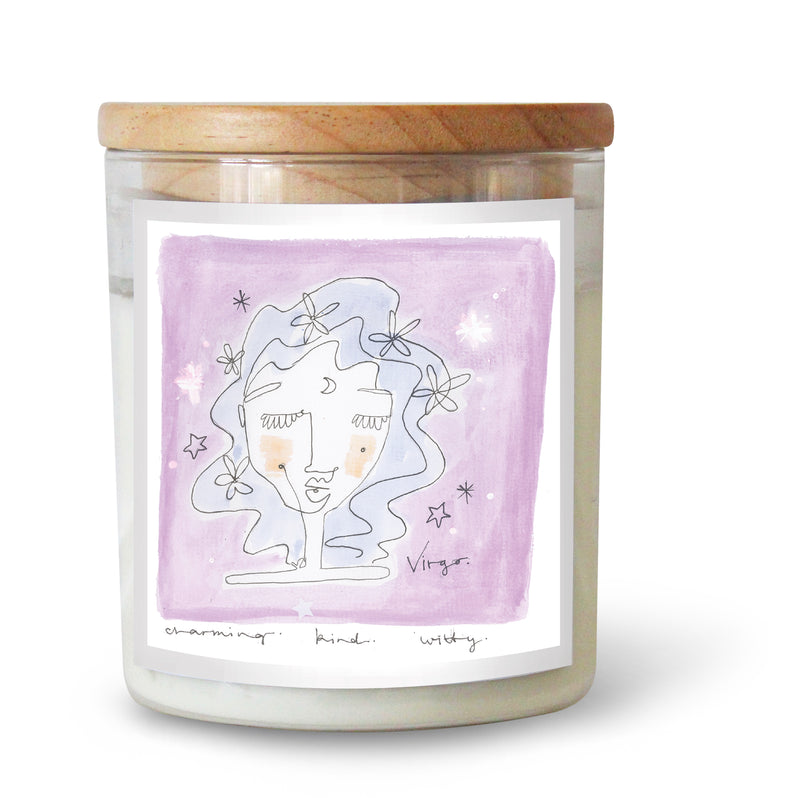 The Commonfolk Collective Zodiac Virgo Candle Standard