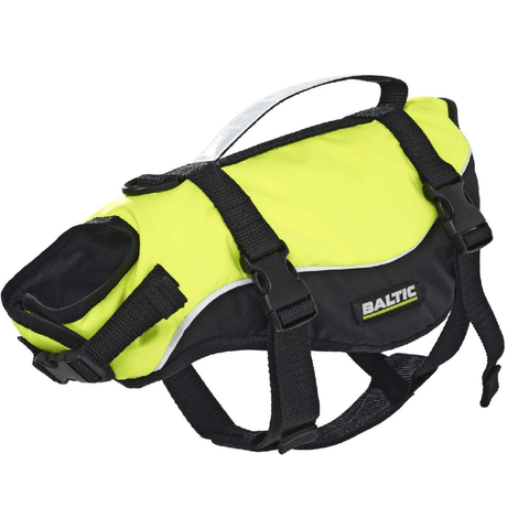 Cat life jacket with a grab handle