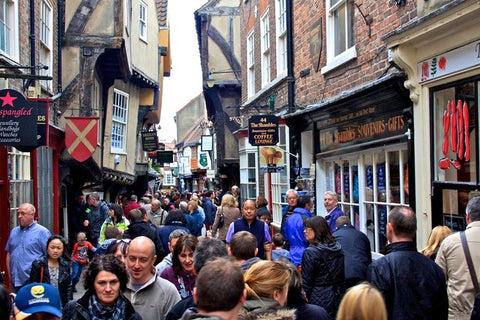 york busy day