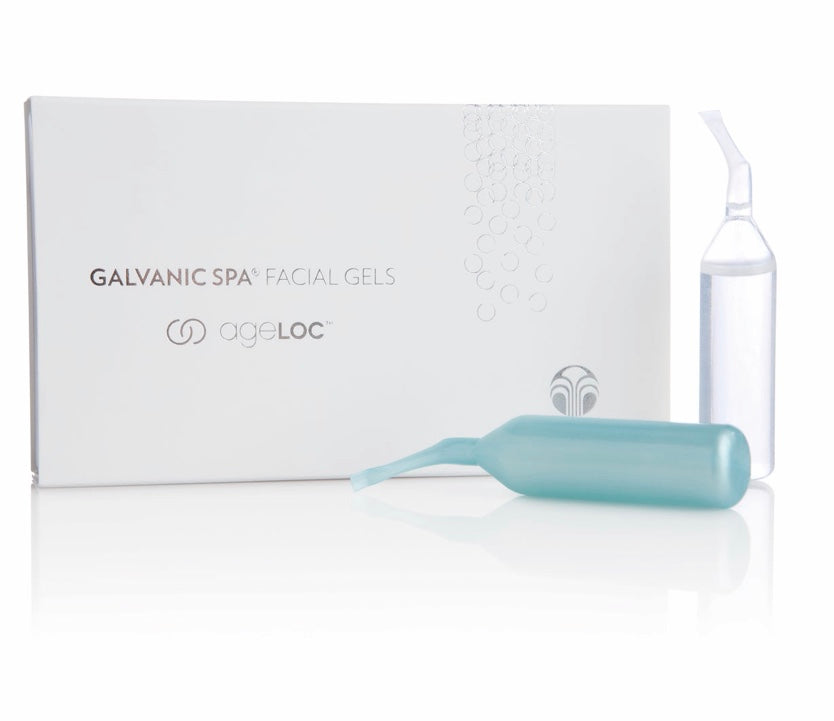 Galvanic Spa Facial Gels with ageLOC