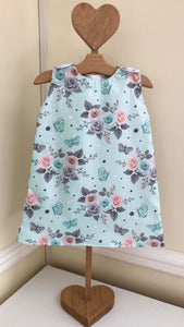Mint Summer Floral dress