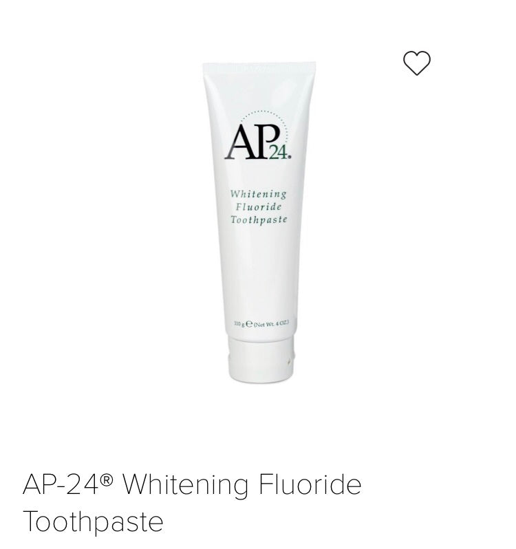 AP24 Teeth Whitening Fluoride Toothpaste