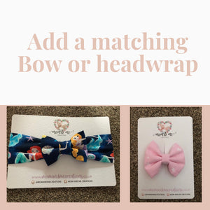 Add a matching Headwrap or Bow