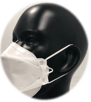 Believe Mask with Adjustable Earloop 3Stk. (Corona SARS CoV-2 certified)