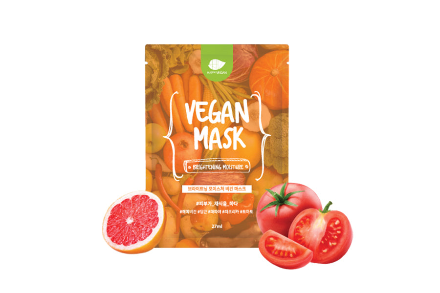 Brightening Moisture Vegan Mask (5ea/box)