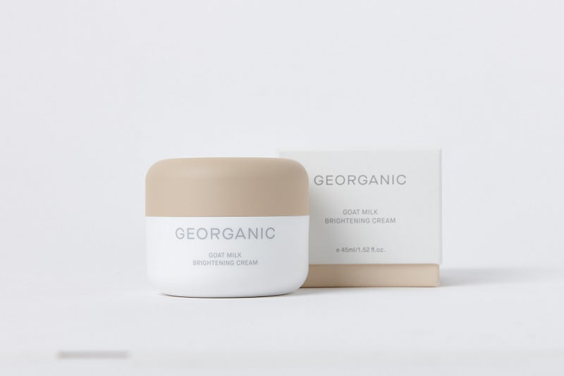 [GEORGANIC] Goat Milk Brightening Cream - CHOMIMO