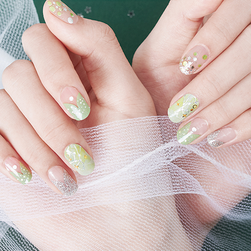 Gel Nail Strip - Star Sign #8