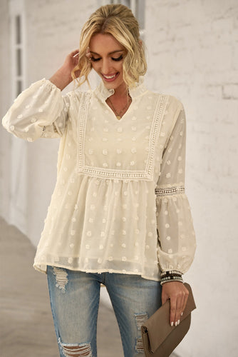 Top - Knotted Front Hem