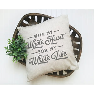 Pillow - With My Whole Heart