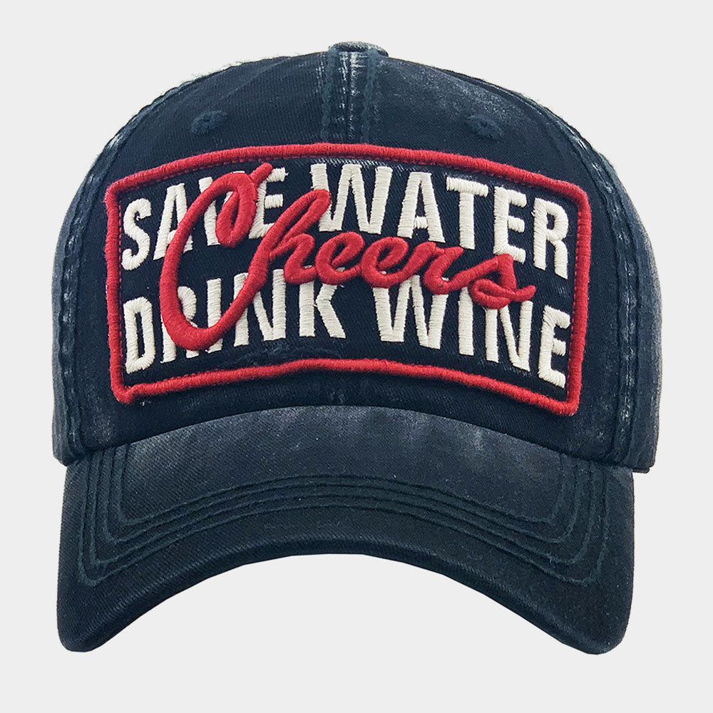 Vintage Ball Cap - Wine