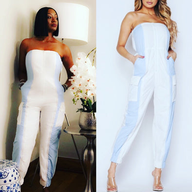 Being Honest Color Block Jumpsuit
