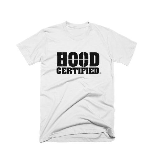 Hood Certified Box Logo Short Sleeve (White)