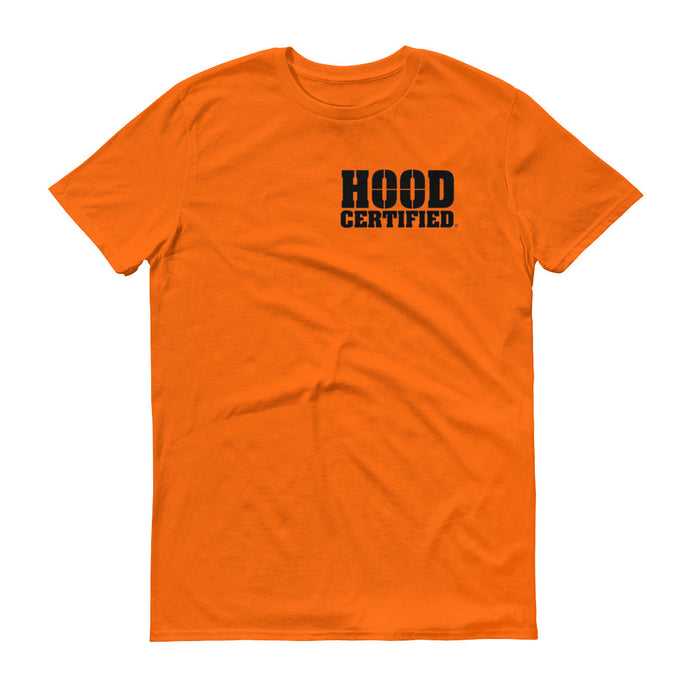 Hood Certified: Orange with Black Logo