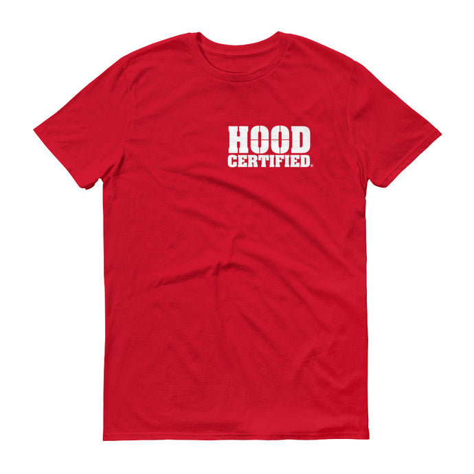 Hood Certified : Red with White HC Logo