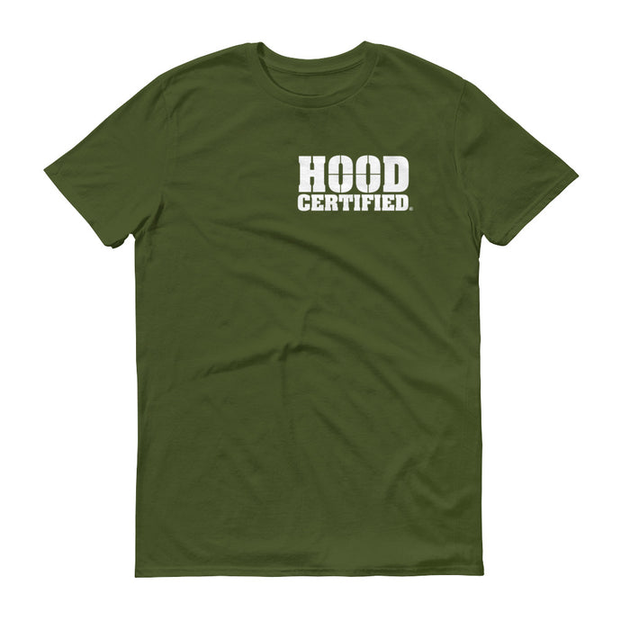 Hood Certified : Combat Green with White Logo
