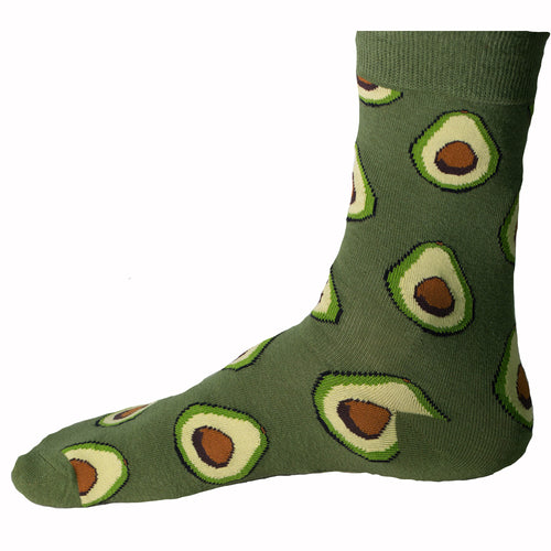 Avocado Socks + Free Autographed Picture
