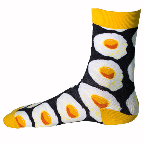 Fried Egg Socks + Free Autographed Picture
