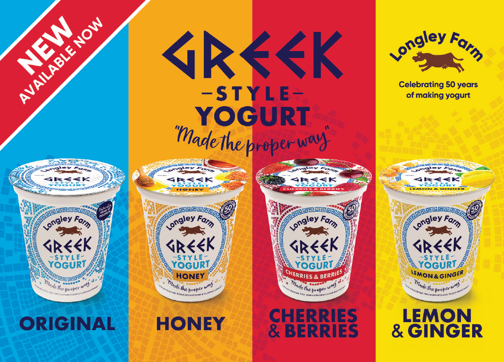 New Greek Style Yogurt