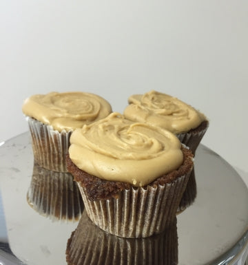 Spiced Apple and Salted Caramel Cupcakes