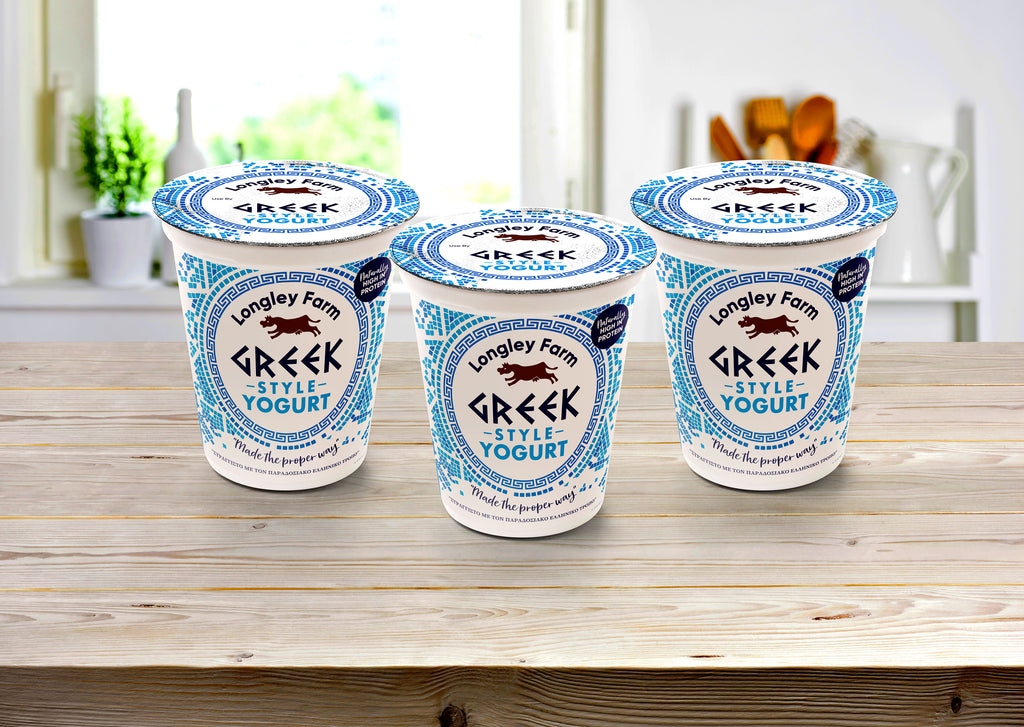 Greek style yogurt now available in Asda