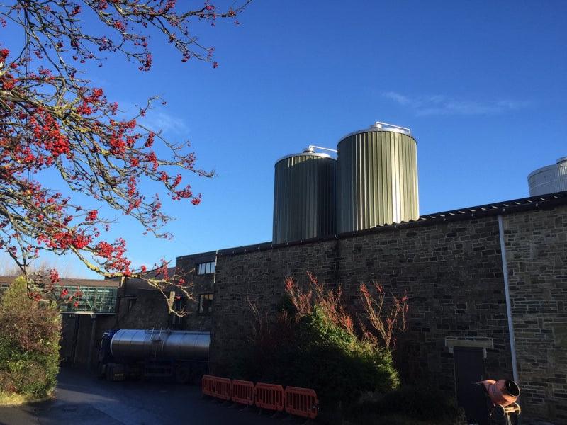 New Silos at the Dairy