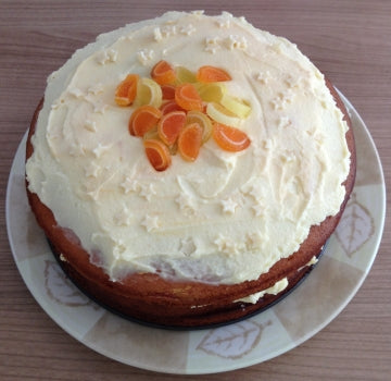White Chocolate & Orange Cake