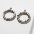 Chandra Hoop Earrings Stone Lori Weitzner Jewelry Accessories